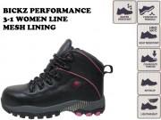 BICKZ PERFORMANCE 3-1 WOMEN LINE MESH LINING