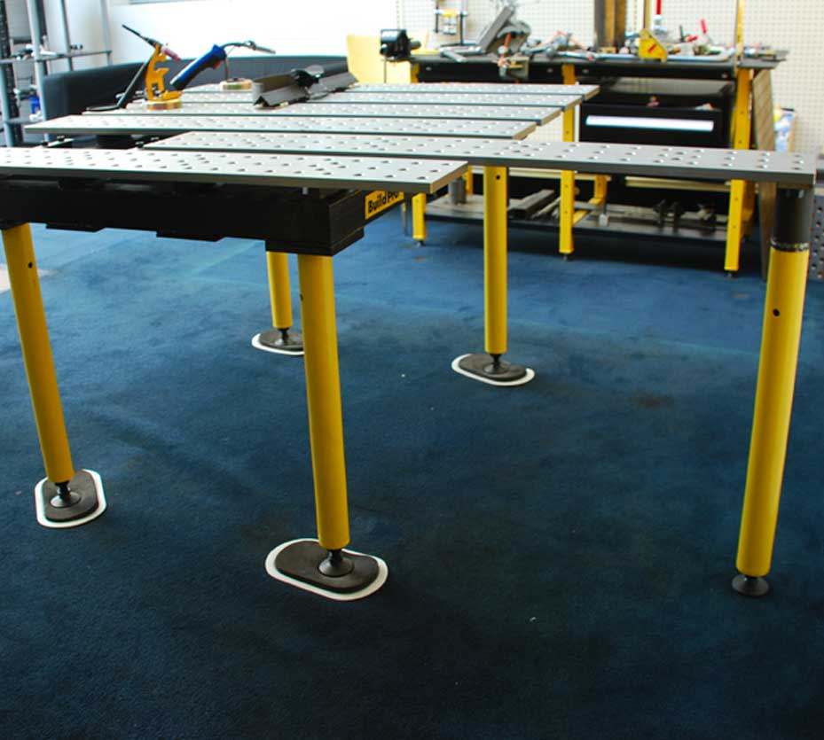 These Legs Feature Self Leveling Feet To Ensure Proper Of Your Table On Uneven Surfaces
